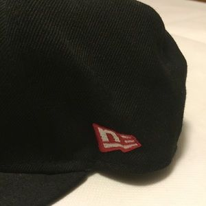 0538f2dd214 New Era Accessories - OG Girl New Era Hat by Girl Skateboard Blk Red